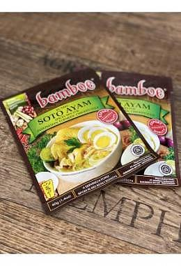 Bamboe Seasoning for Indonesian Yellow Chicken Soup