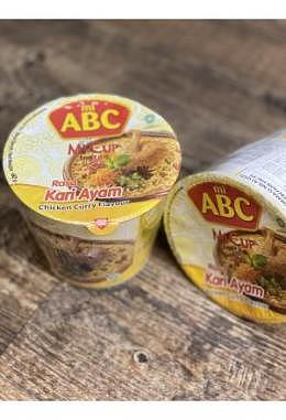 ABC Mi Cup Rasa Kari Ayam