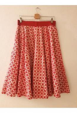 TC Rok Batik Kawung Merah Putih