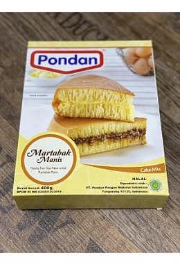 Pondan Martabak Cake Mix