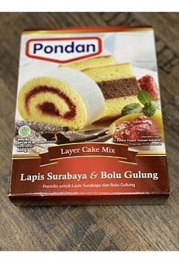 Pondan Tepung Kue Lapis Surabaya Bolu Gulung