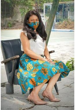 CR Batik-Rock Lilit + Masker