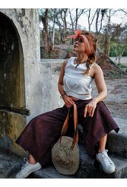CR Batik-Celana Lilit + Masker