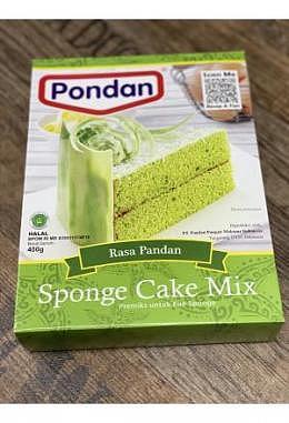 Pondan Sponge Pandan Cake Mix