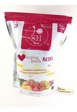 Josh Kuping Gajah Cookies with Mocha Flavour