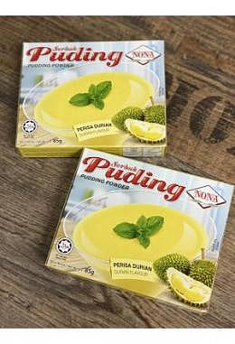 Nona Serbuk Puding Rasa Durian